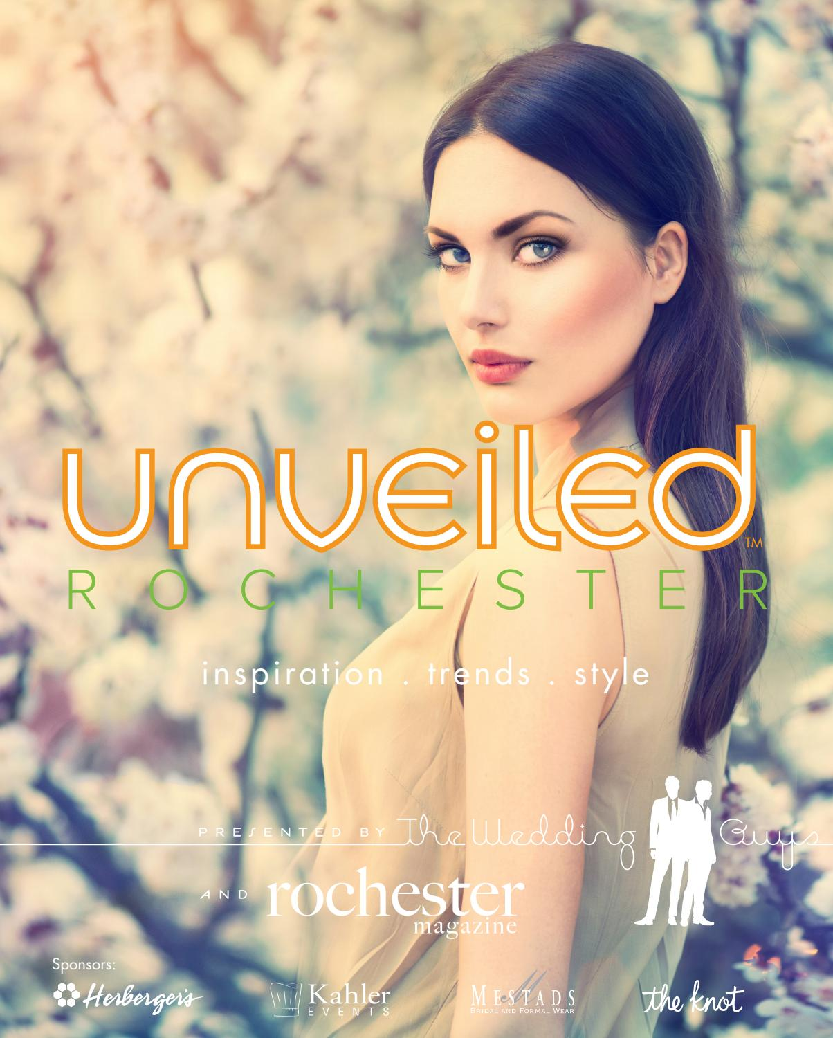 Unveiled Rochester Program October 2017 By The Wedding Guys Issuu