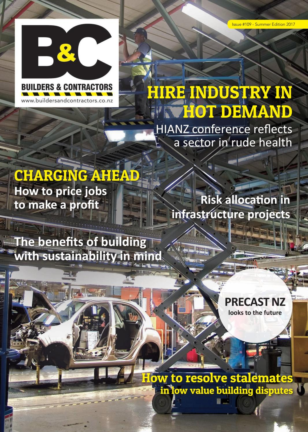 Builders Contractors Magazine Issue 109 By Markat Issuu
