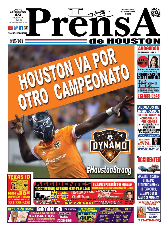 Edicion 823 by La Prensa de Houston - issuu