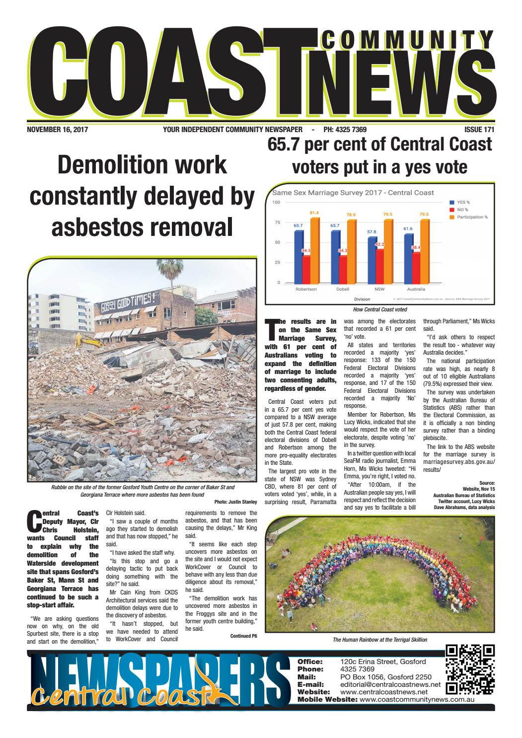 Issue 171 Of Coast Community News By Central Coast Newspapers Issuu