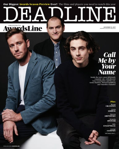 Deadline Hollywood - AwardsLine - 11/15/17 by Deadline