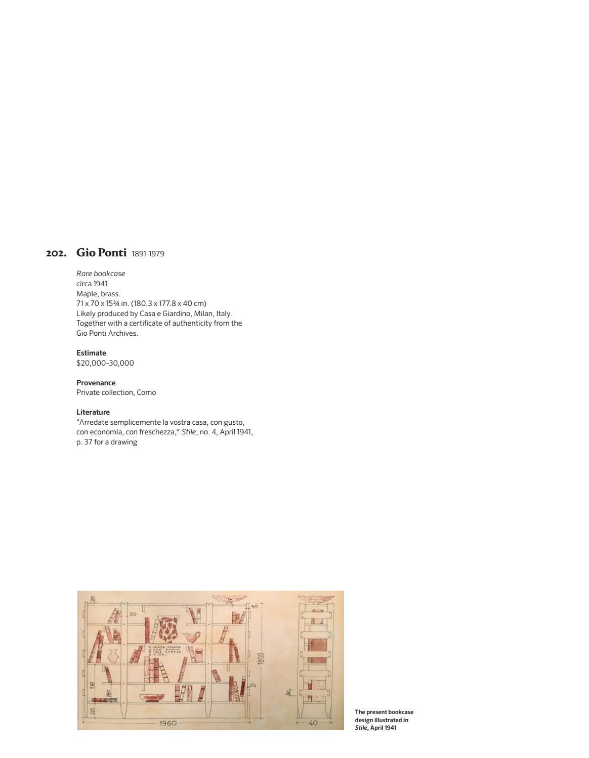 Case Arredate Con Gusto design evening sale [catalogue] by phillips - issuu