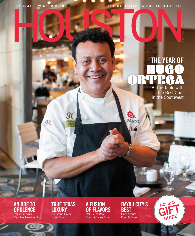 Houston Hotel Magazine Winter + Holiday 2018