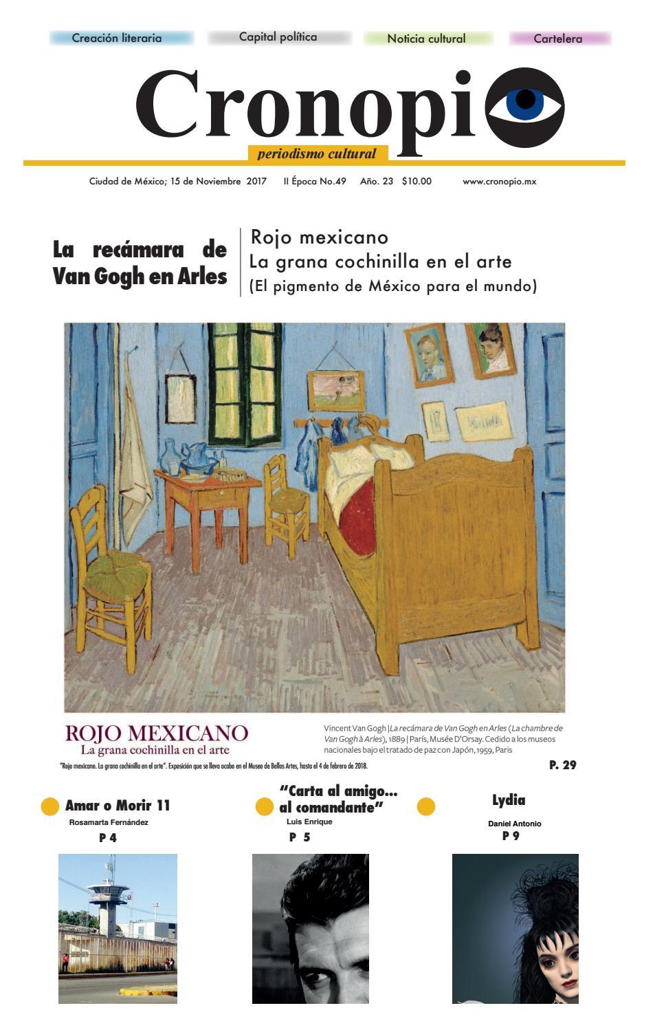 Cronopio Periodismo Cultural Nº49 By Cronopio Periodismo