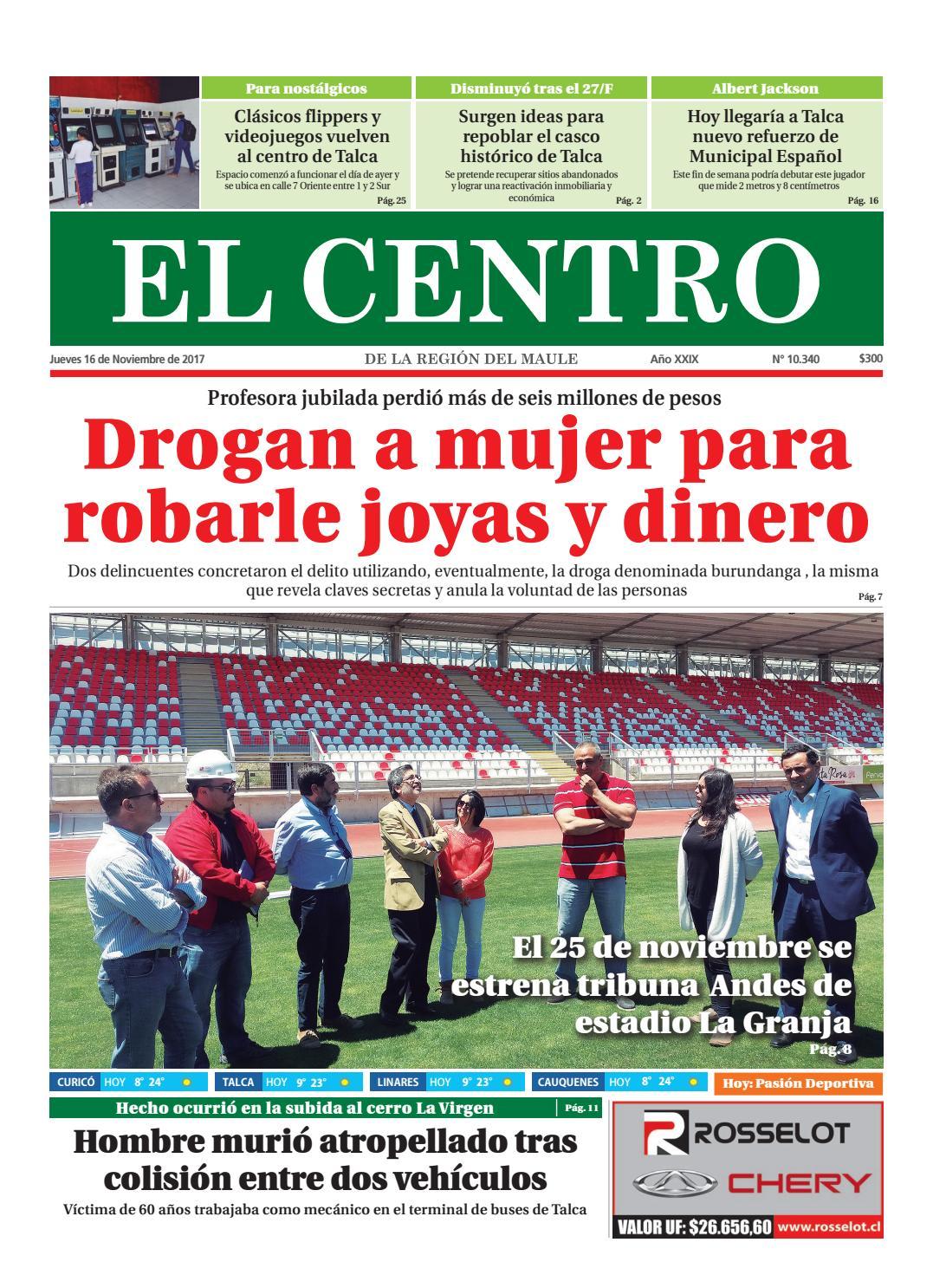 Diario 16-11-2017 by Diario El Centro S.A - issuu 74d9781d35e9e