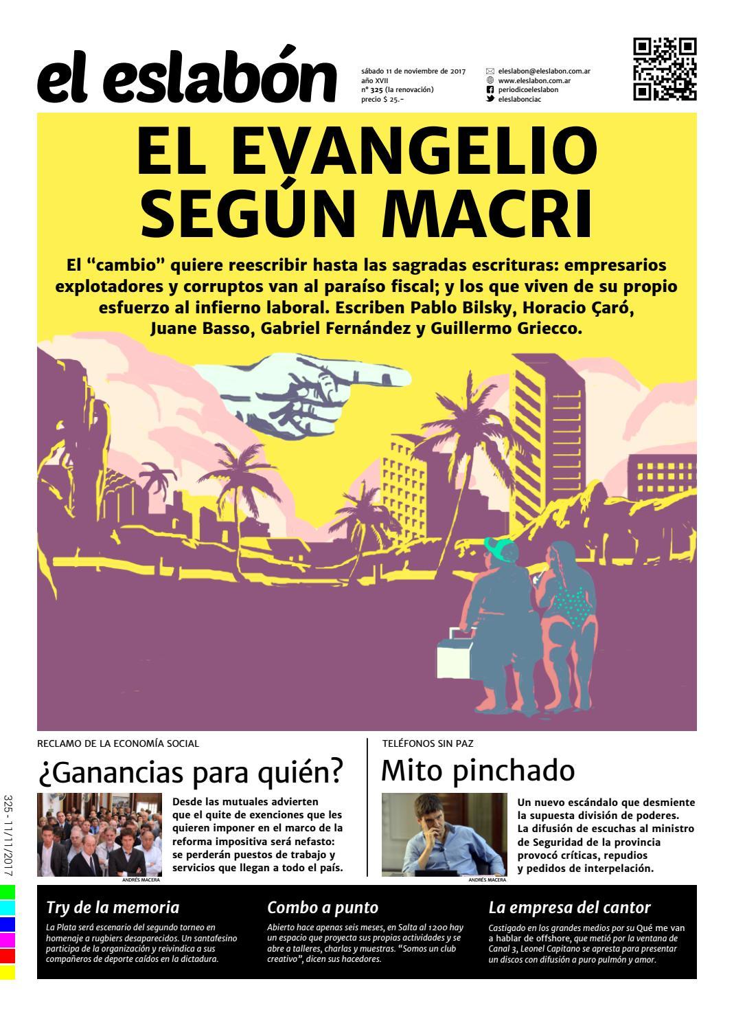 el eslabón 325 by El Eslabón de la Cadena Informativa - issuu
