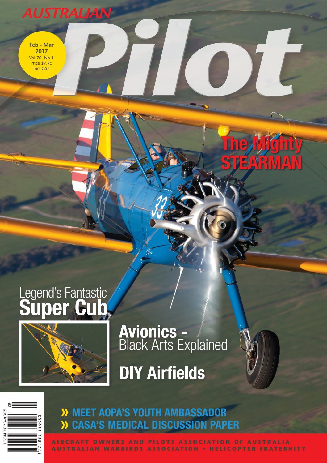 Australian PILOT Magazine Feb-Mar 2017 by AOPA Australia - issuu