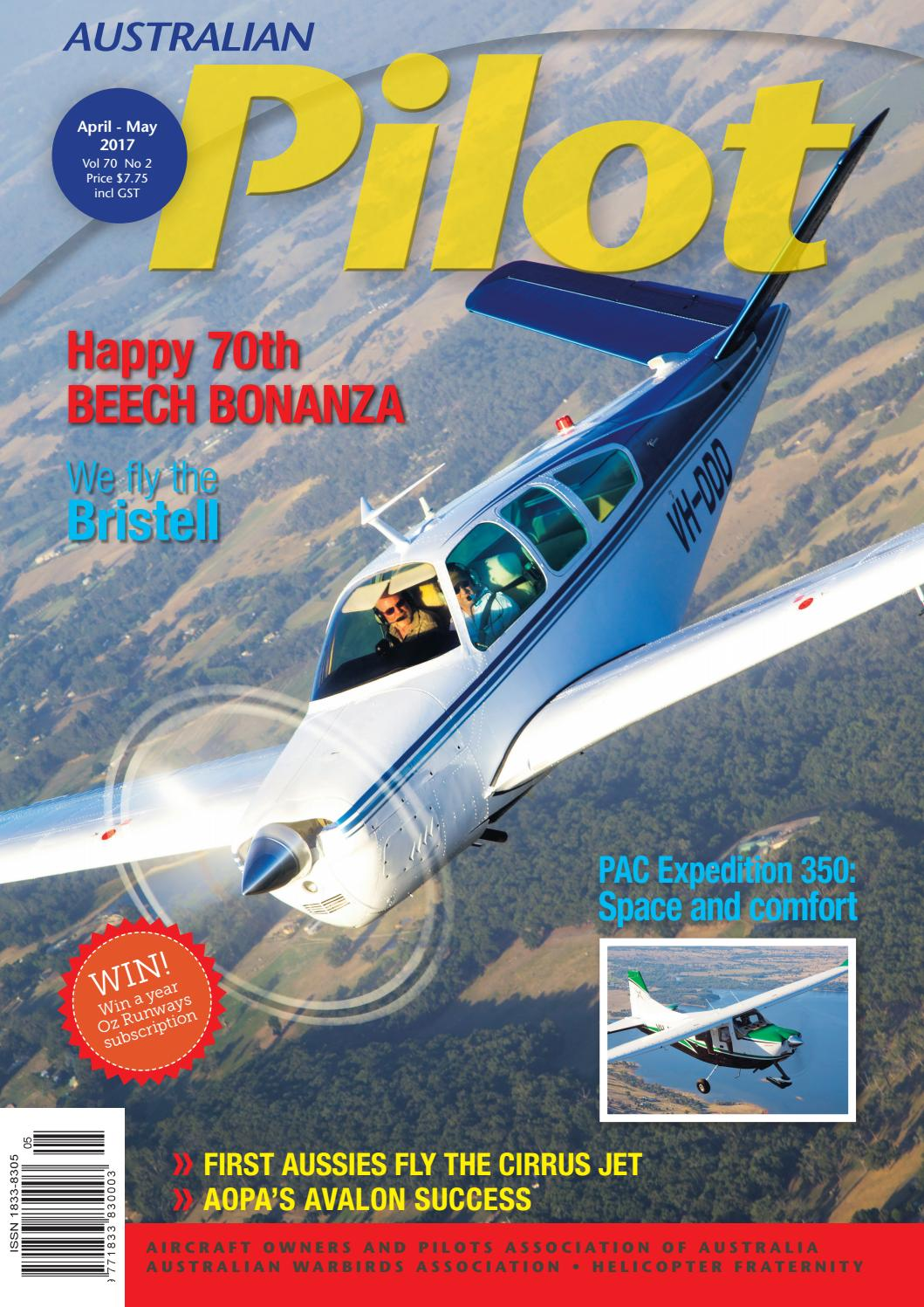 Australian PILOT Magazine Apr-May 2017 by AOPA Australia - issuu