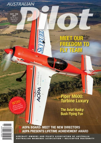 Jun-jul Pilot Australia Australian - By Magazine 2017 Aopa Issuu