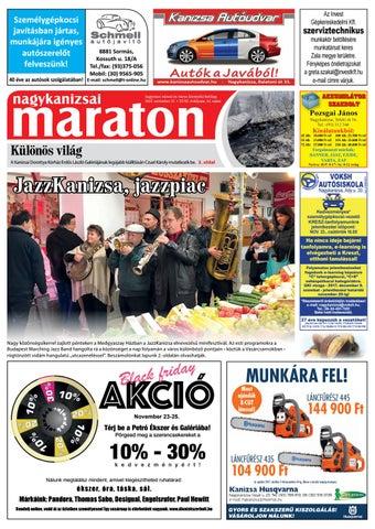 Nagykanizsai Maraton - 2017. 11. 17. by Maraton Lapcsoport Kft. - issuu 8afe3befa3