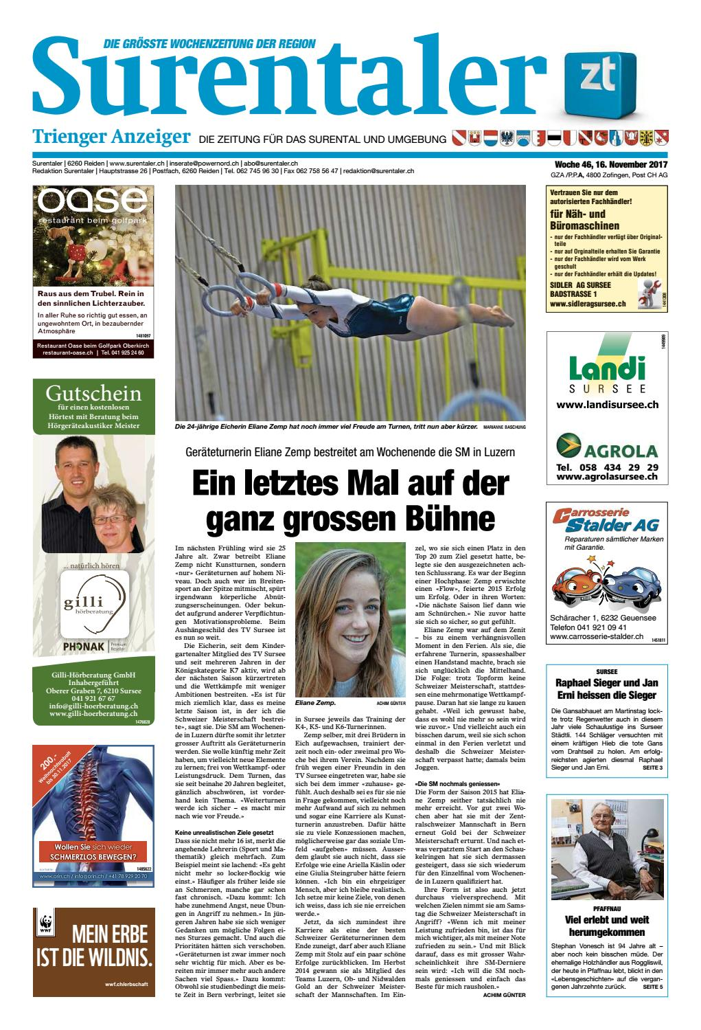 Surentaler 46/17 by ZT Medien AG - issuu