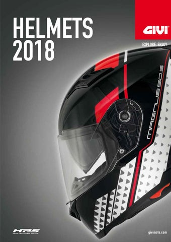 Helmets Catalogue Collection 1718 By Givi Srl Issuu