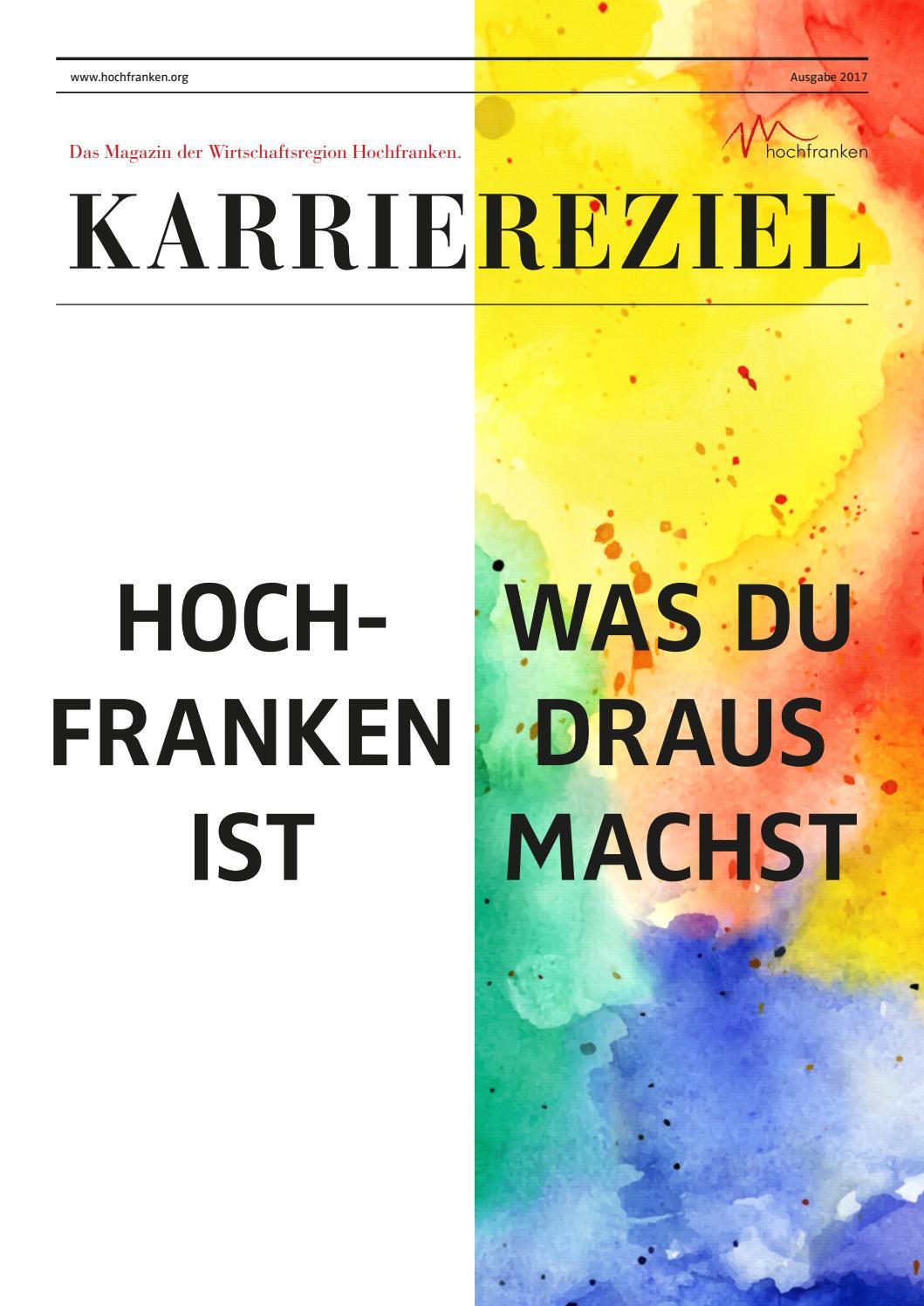 Wirtschaftsregion Hochfranken Karriereziel 2017 by SCHROEDER ...