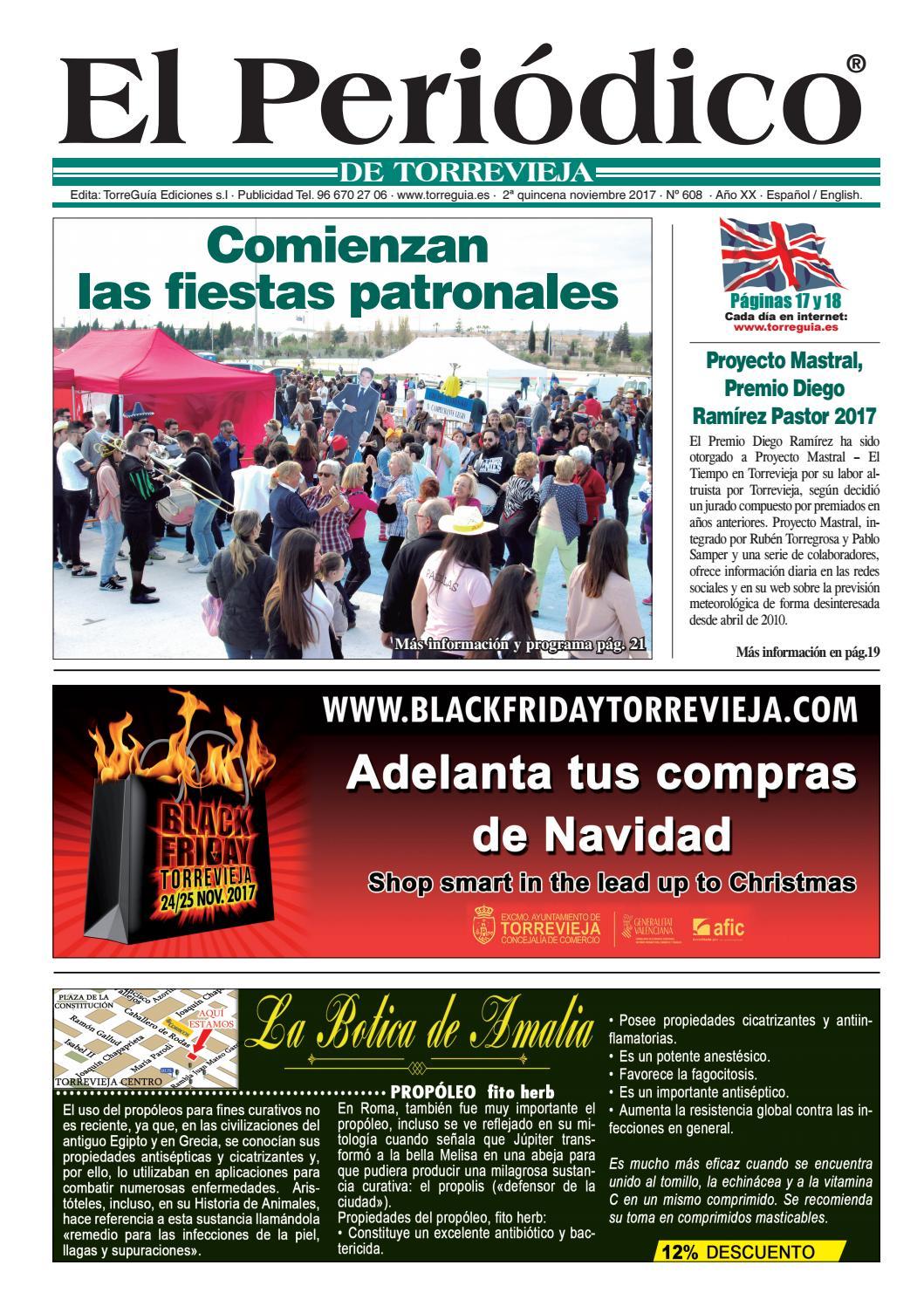 El Periódico de Torrevieja nº608 by Torreguía Ediciones issuu