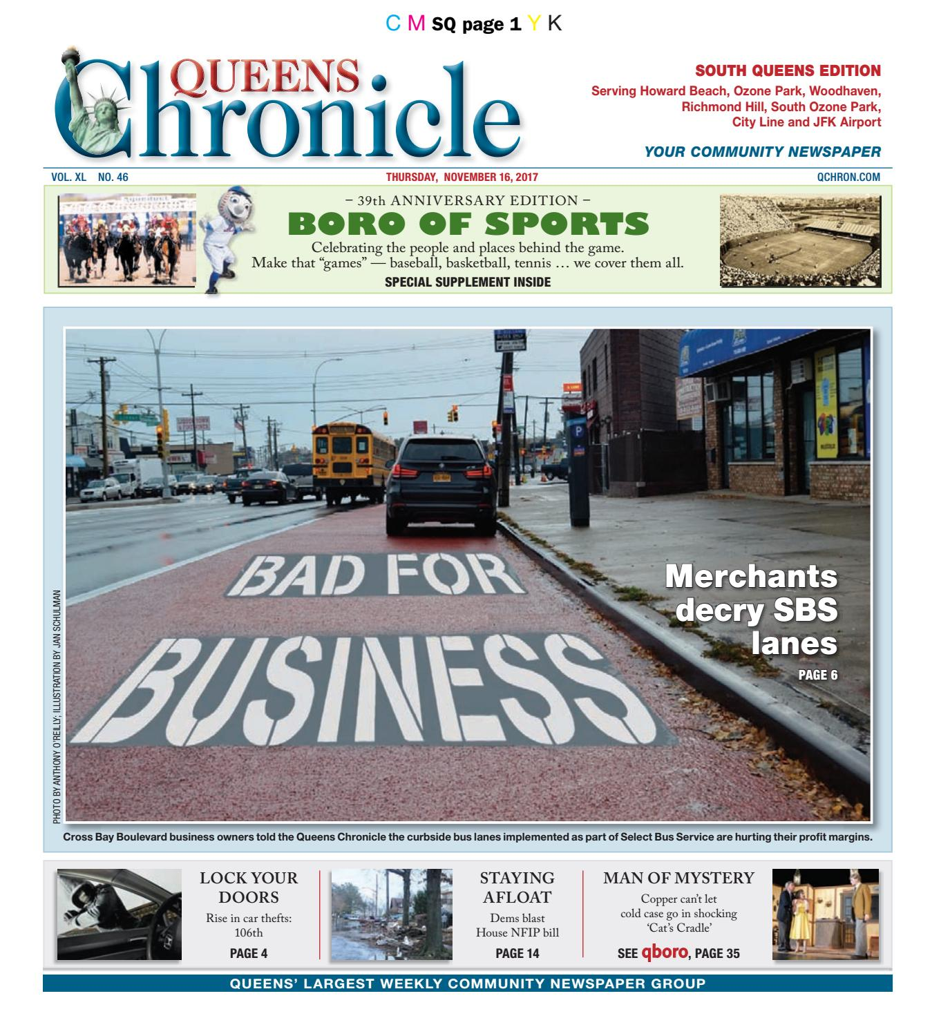 Queens Chronicle South Edition 11-16-17 by Queens Chronicle