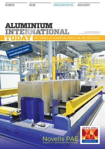 Aluminium International Today November December 2017 by Quartz ... 42fa0ad895f