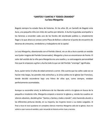 d5fcc514542b Historias de vida de Bogotá by Mónica Miranda - issuu