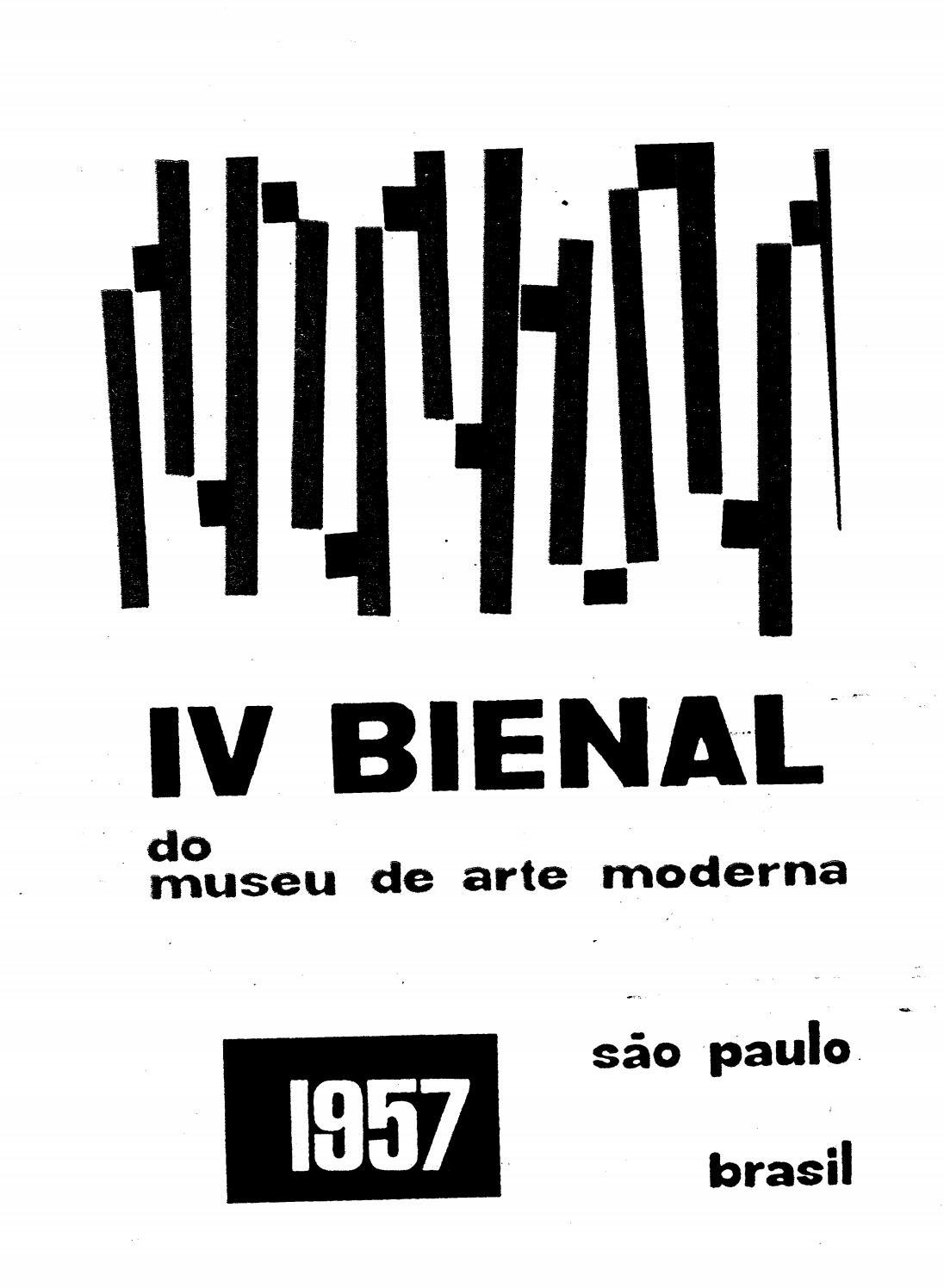 bbae8279b1ecc 4ª Bienal de São Paulo (1957) - Catálogo by Bienal São Paulo - issuu
