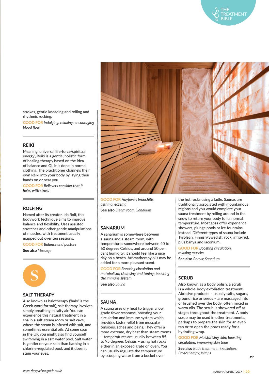 Wellness Magazine Autumn/Winter 2017 by Good Spa Guide - issuu