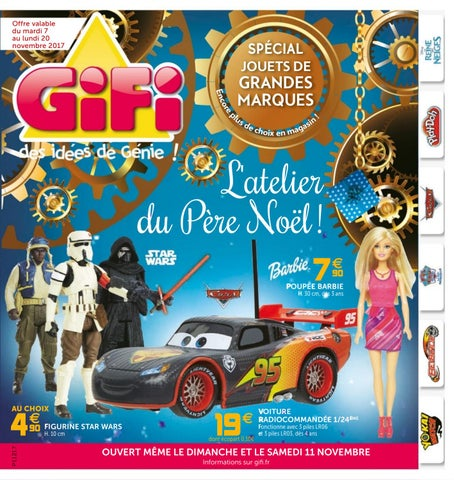 Catalogue Jouets Noël 2017 Gifi By Yvernault Issuu