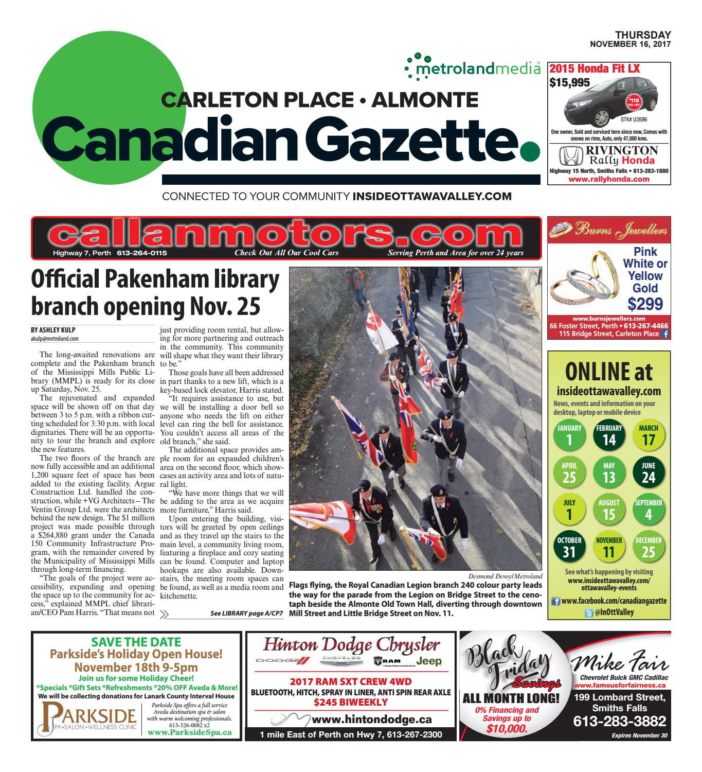Almontecarletonplace111617 by metroland east almonte carleton almontecarletonplace111617 by metroland east almonte carleton place canadian gazette issuu fandeluxe Choice Image