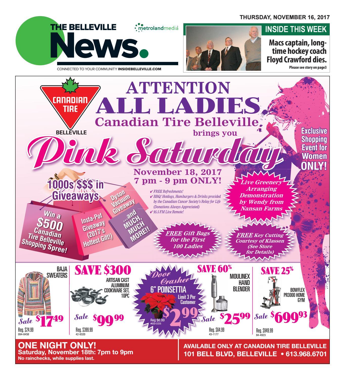 Belleville111617 by Metroland East - Belleville News - issuu