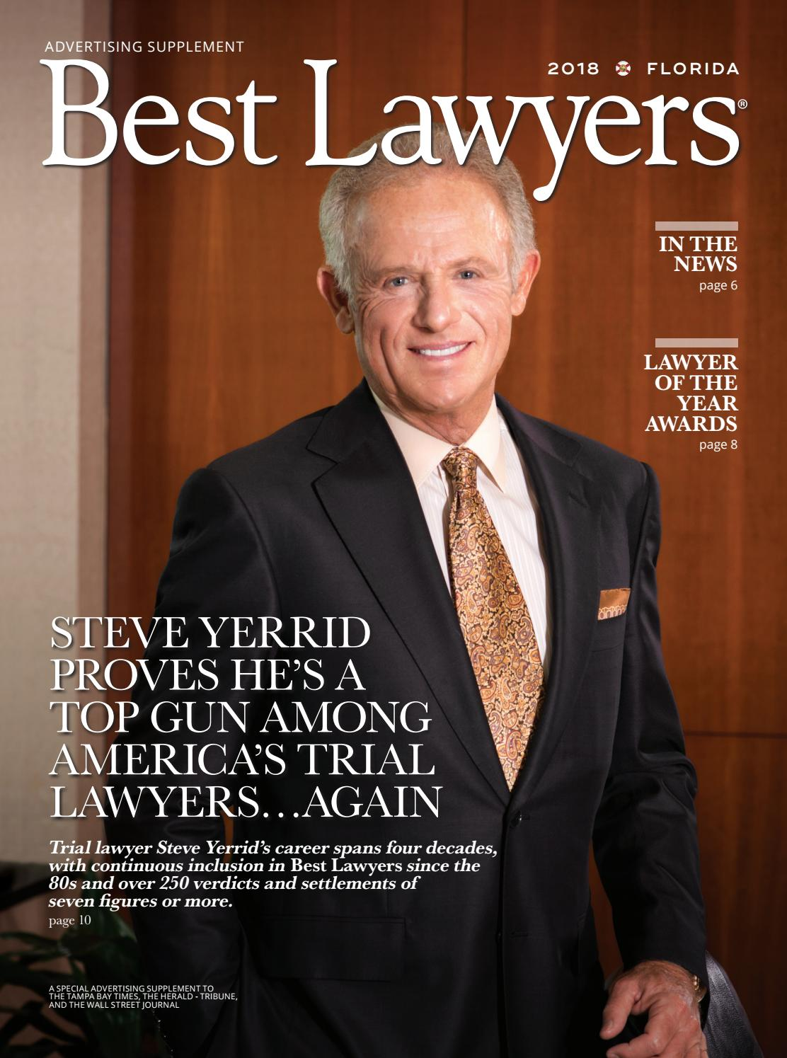 Jaime Bruning Great best lawyers in florida: tampa edition 2018best lawyers - issuu