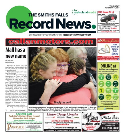 Smithsfalls111617 by metroland east smiths falls record news issuu page 1 fandeluxe Images