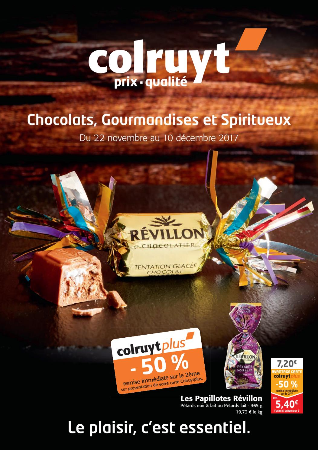 Chocolats spiritueux 2017 by Colruyt Group Services - Issuu
