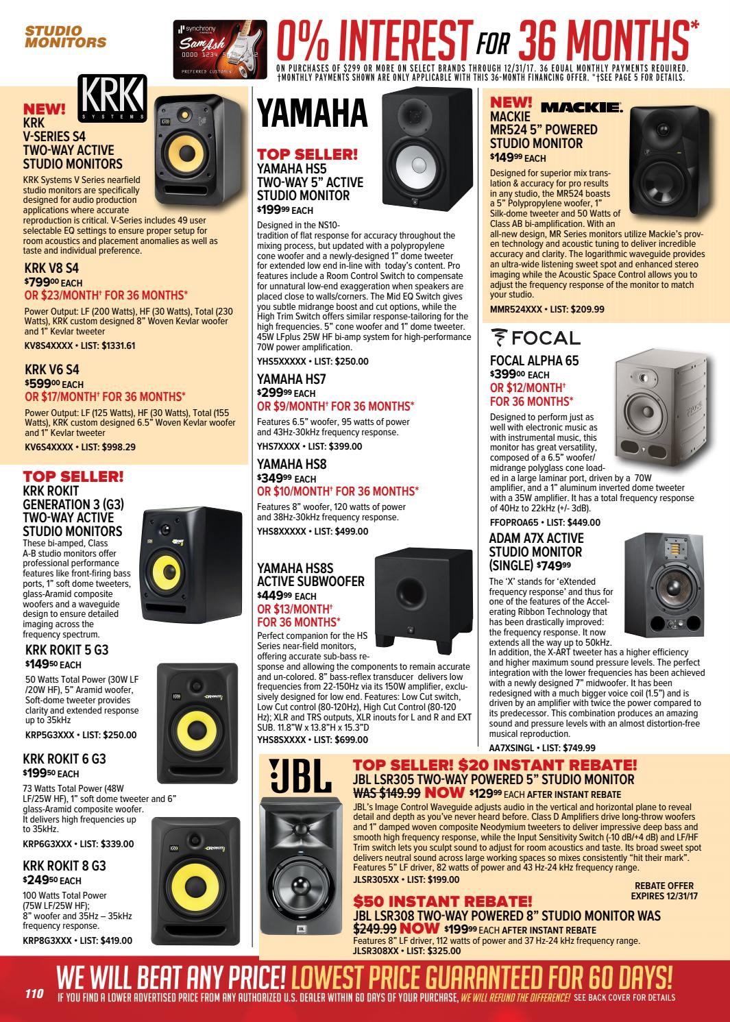 Holiday 2017 Sam Ash GearGuide by Sam Ash Music Corp  - issuu