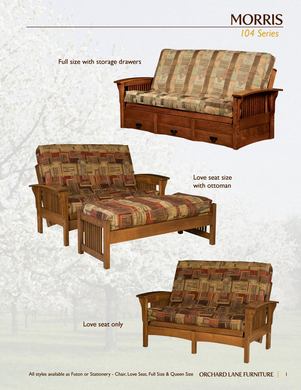 2016 Futons By Orchard Lane
