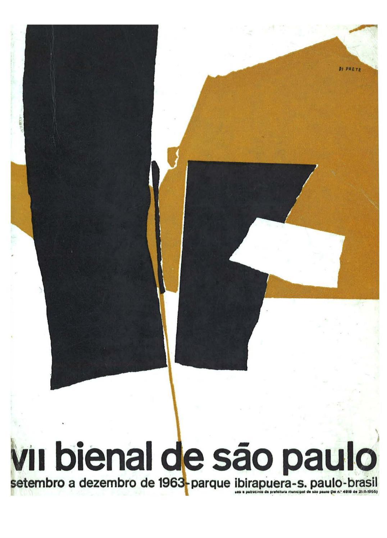 d41ff17ec7e44 7ª Bienal de São Paulo (1963) - Catálogo by Bienal São Paulo - issuu