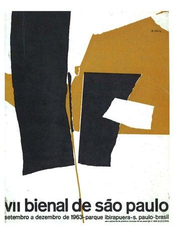 ecabc1041b 7ª Bienal de São Paulo (1963) - Catálogo by Bienal São Paulo - issuu