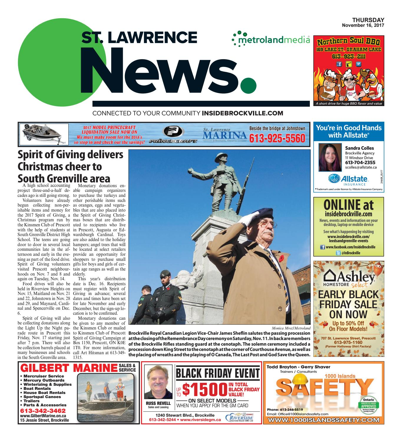 733b001517 Stlawrence111617 by Metroland East - St. Lawrence News - issuu