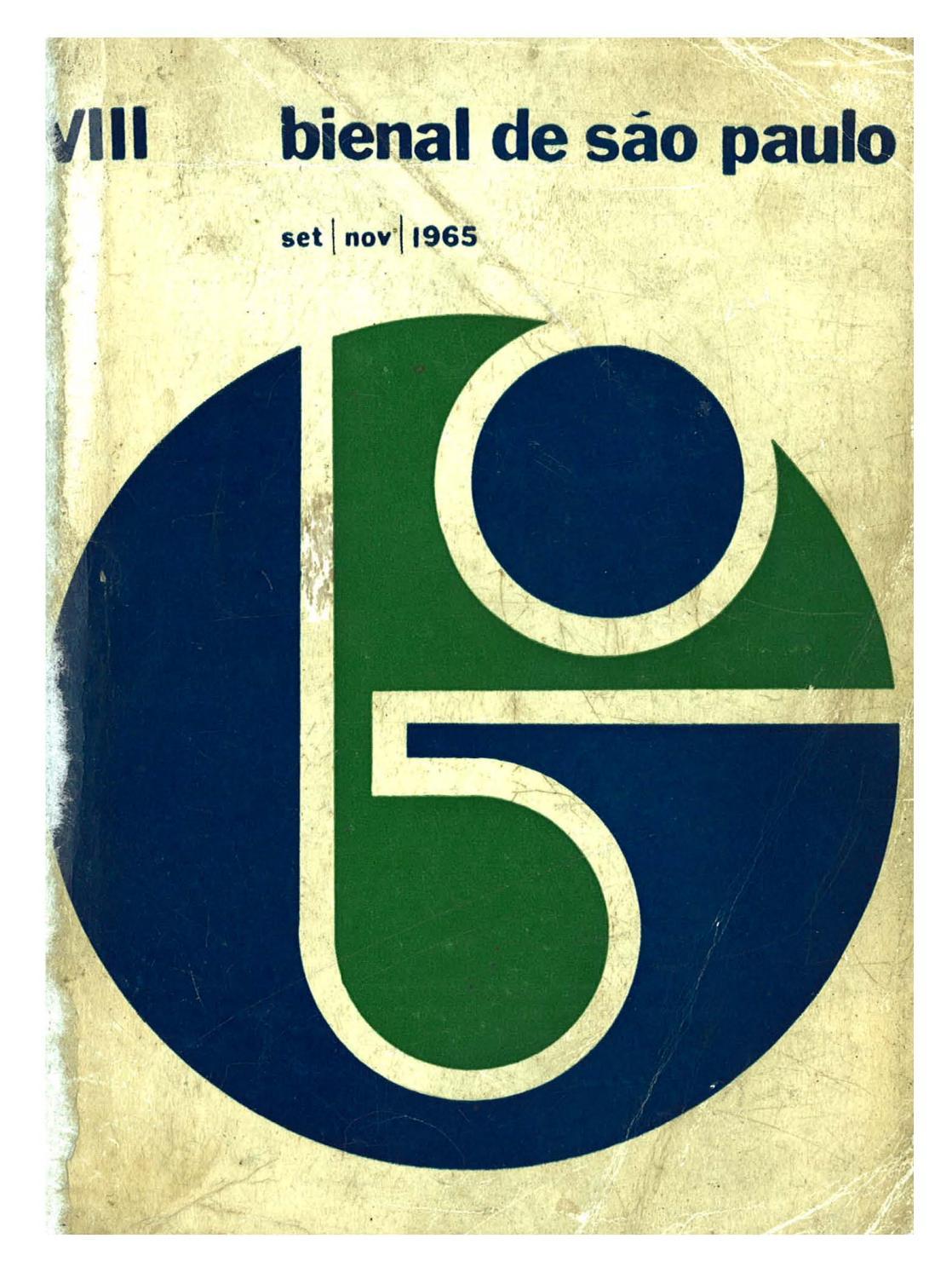 8ª Bienal de São Paulo (1965) - Catálogo by Bienal São Paulo - issuu b9c8606f48fba