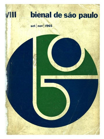 8ª Bienal de São Paulo (1965) - Catálogo by Bienal São Paulo - issuu 130e2ea05ad2f