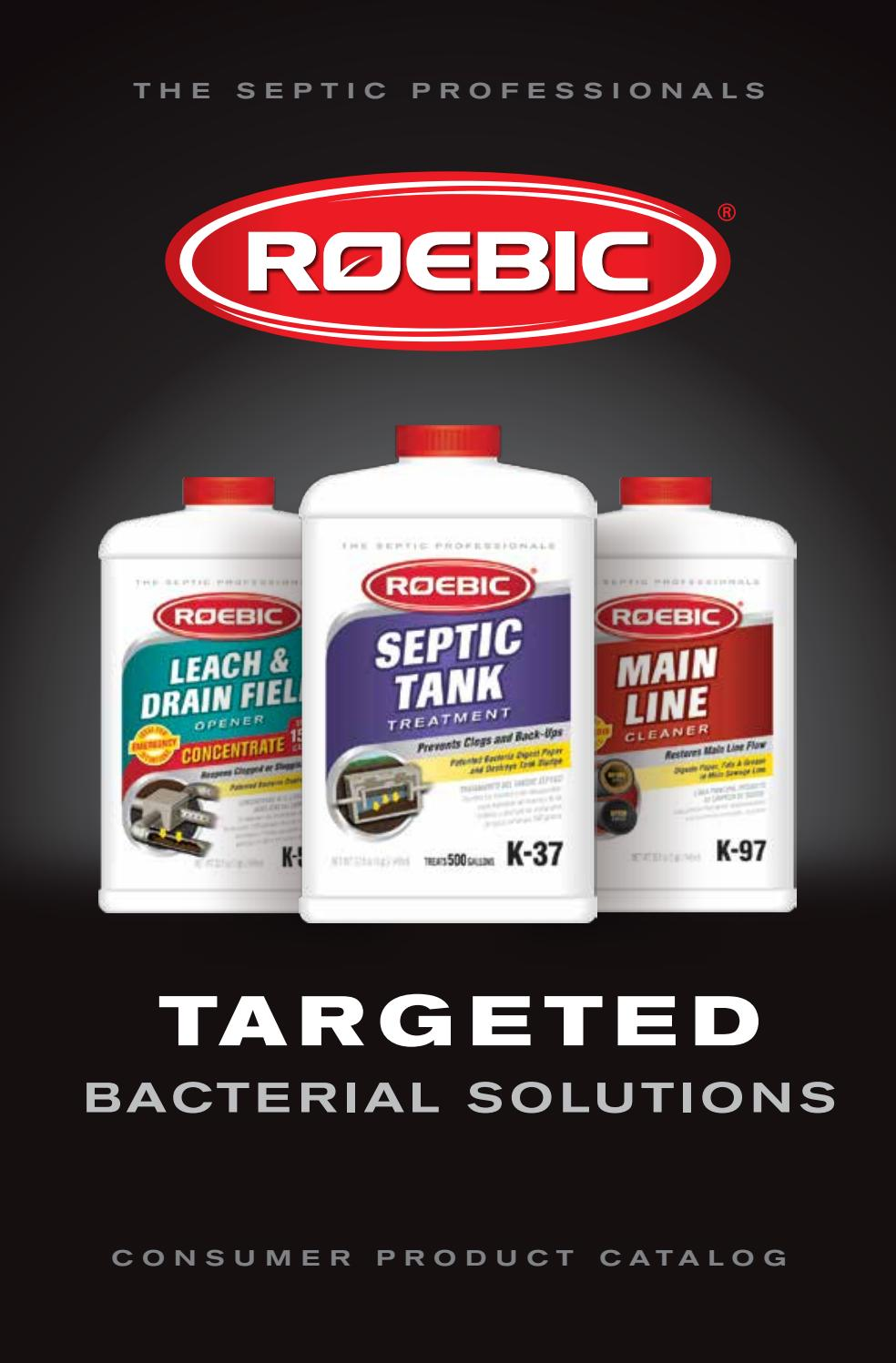 Roebic Consumer Product Catalog by BuildingOnline of Florida