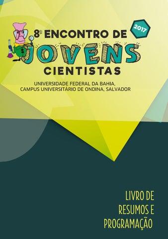 8º Encontro de Jovens Cientistas - Livro de Resumos by Encontro de ... b2e7bdaee42