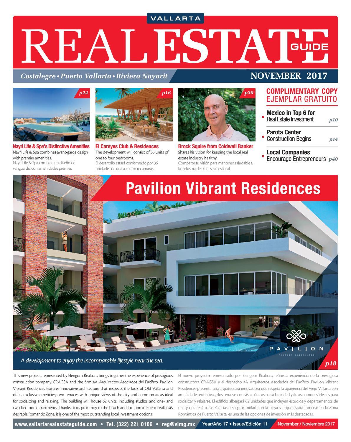 Vallarta Real Estate Guide Noviembre 2017 By Vallarta Lifestyles  # Muebles Pitillal