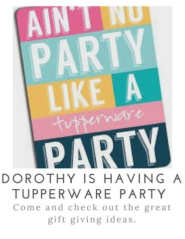 Tupperware Party Logo