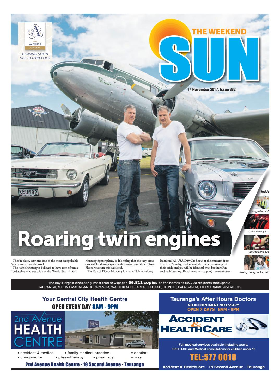The Weekend Sun 17 November 2017 By SunLive