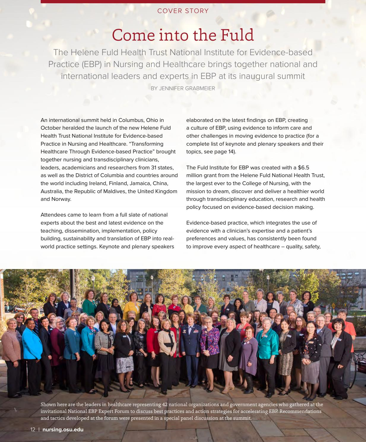 Transformations in Nursing and Health | Fall 2017 by The