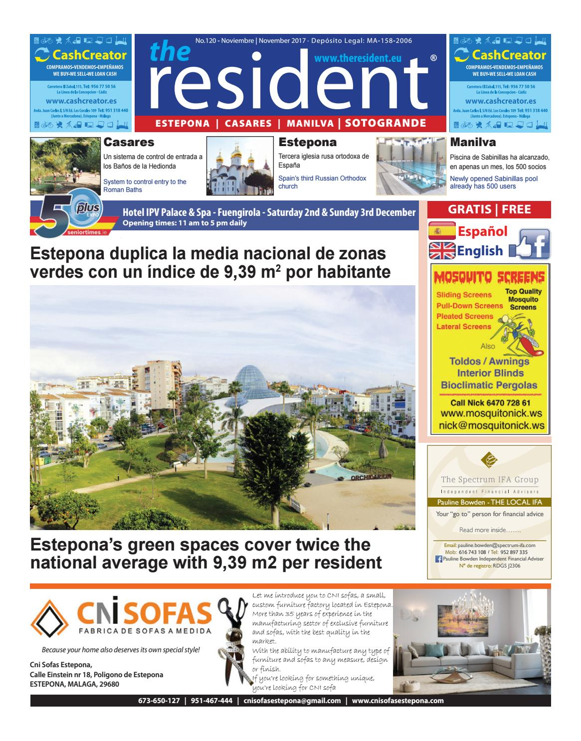 The Resident November 2017 By Manilva Media Workshop Sll Issuu