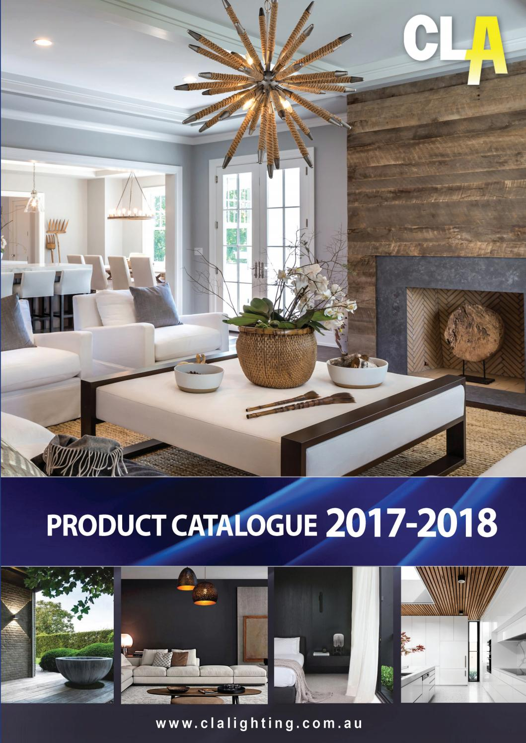 Cla 2017 2018 Catalogue Au By Lighting Issuu