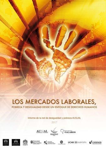 """Informe """"Los mercados laborales, pobreza y desigualdad desde un ..."""