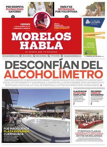 Edición viernes 17 de noviembre 2017 by Morelos Habla - issuu 90d6f6e05e4