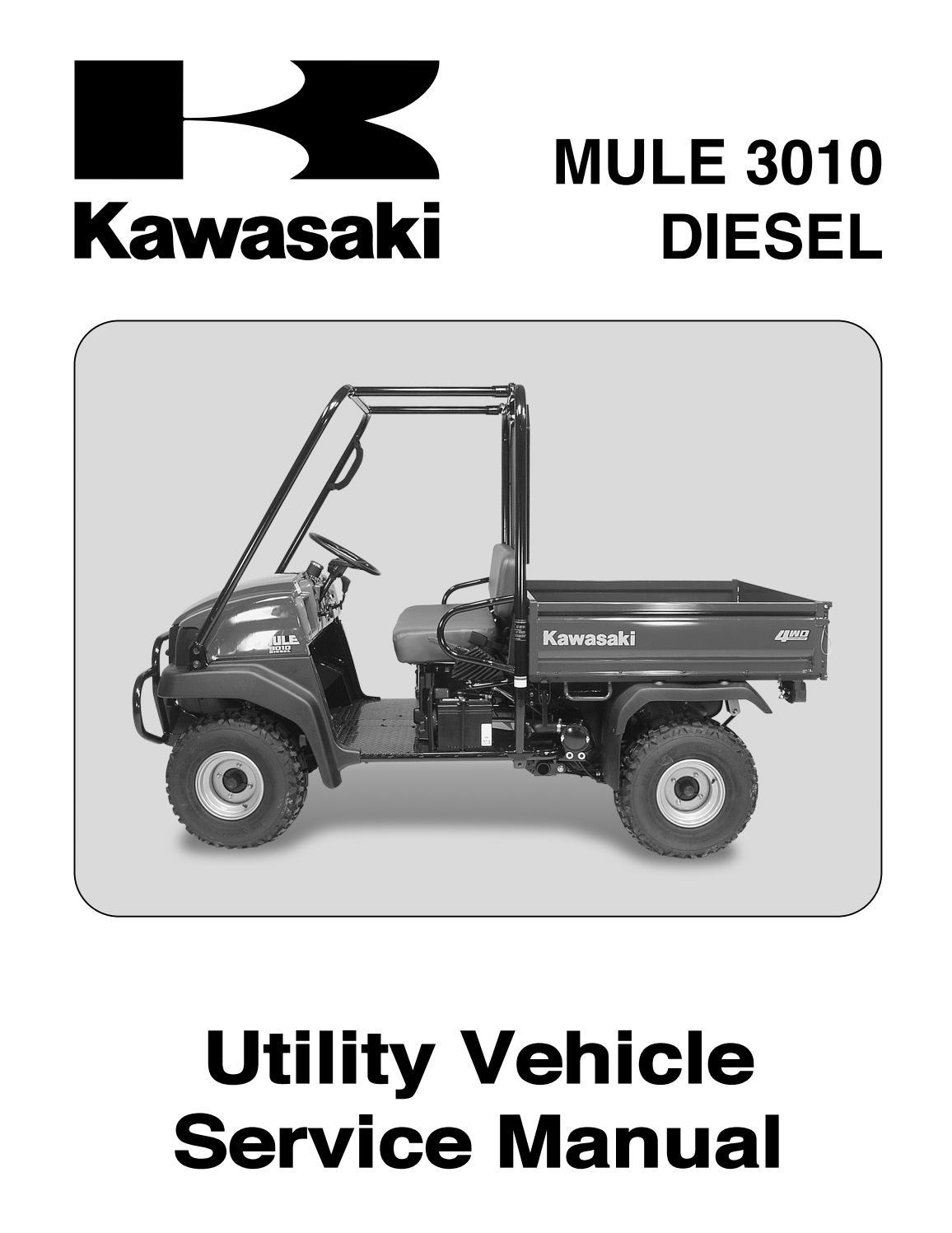 Kawasaki Mule 3010 Diesel Oil Filter