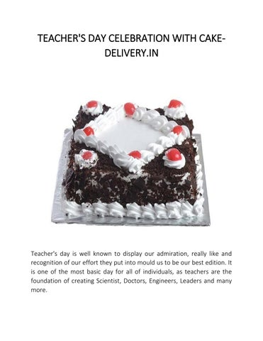 Select To Order Online Chocolates Cake From Your Deliveryin In