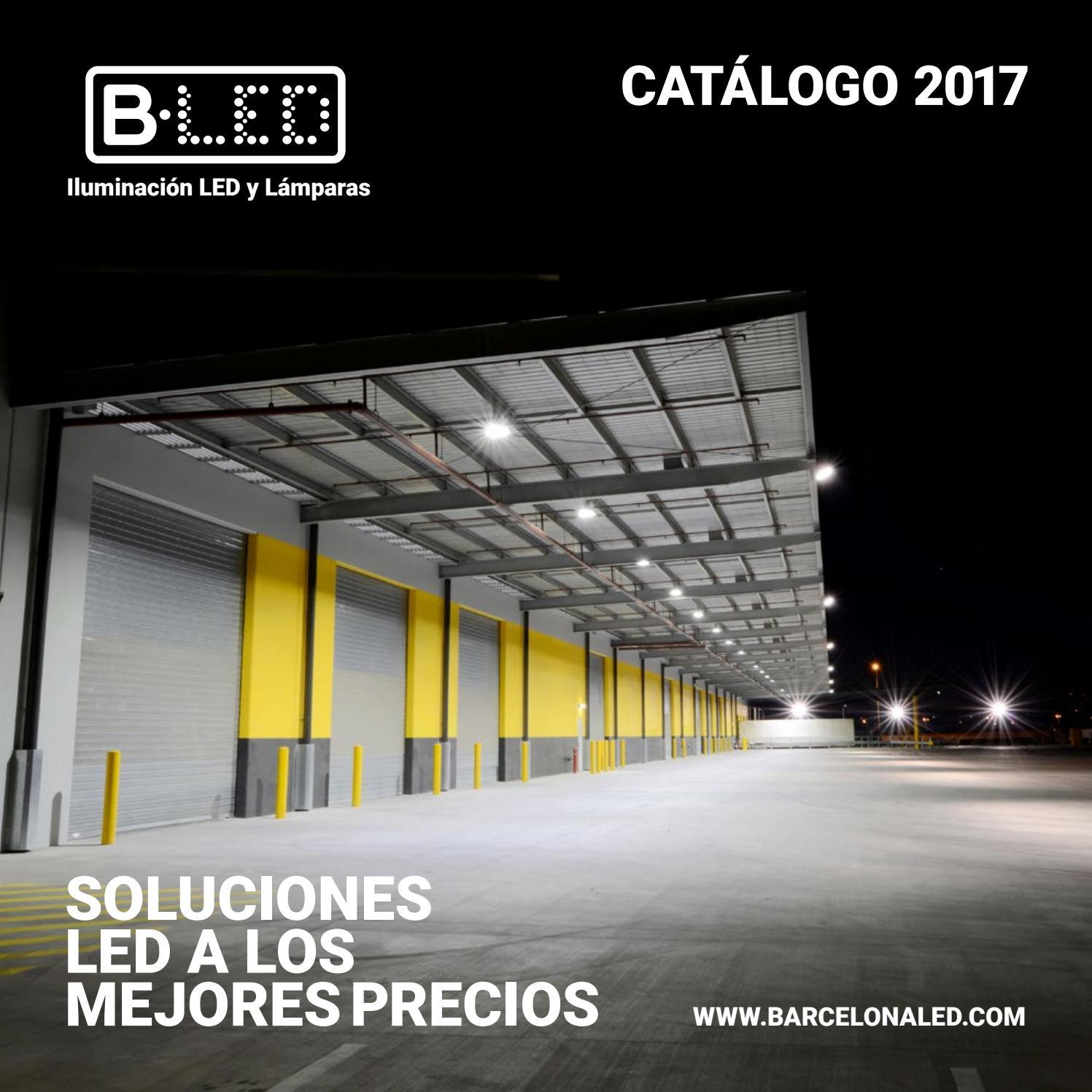 Iluminación Catálogo issuu by LED LED Barcelona Industrial mwNn08