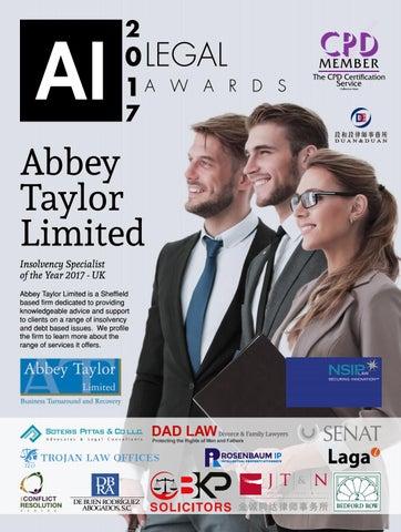 AI Legal awards 2017 by AI Global Media - issuu